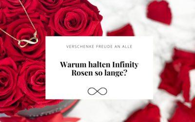 Warum Infinity Rosen lange halten