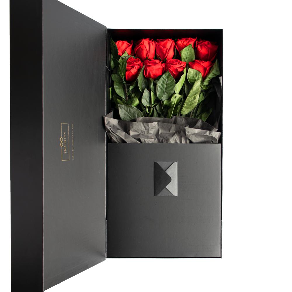Produktbild Stem Rose Extra Large Vibrant Red