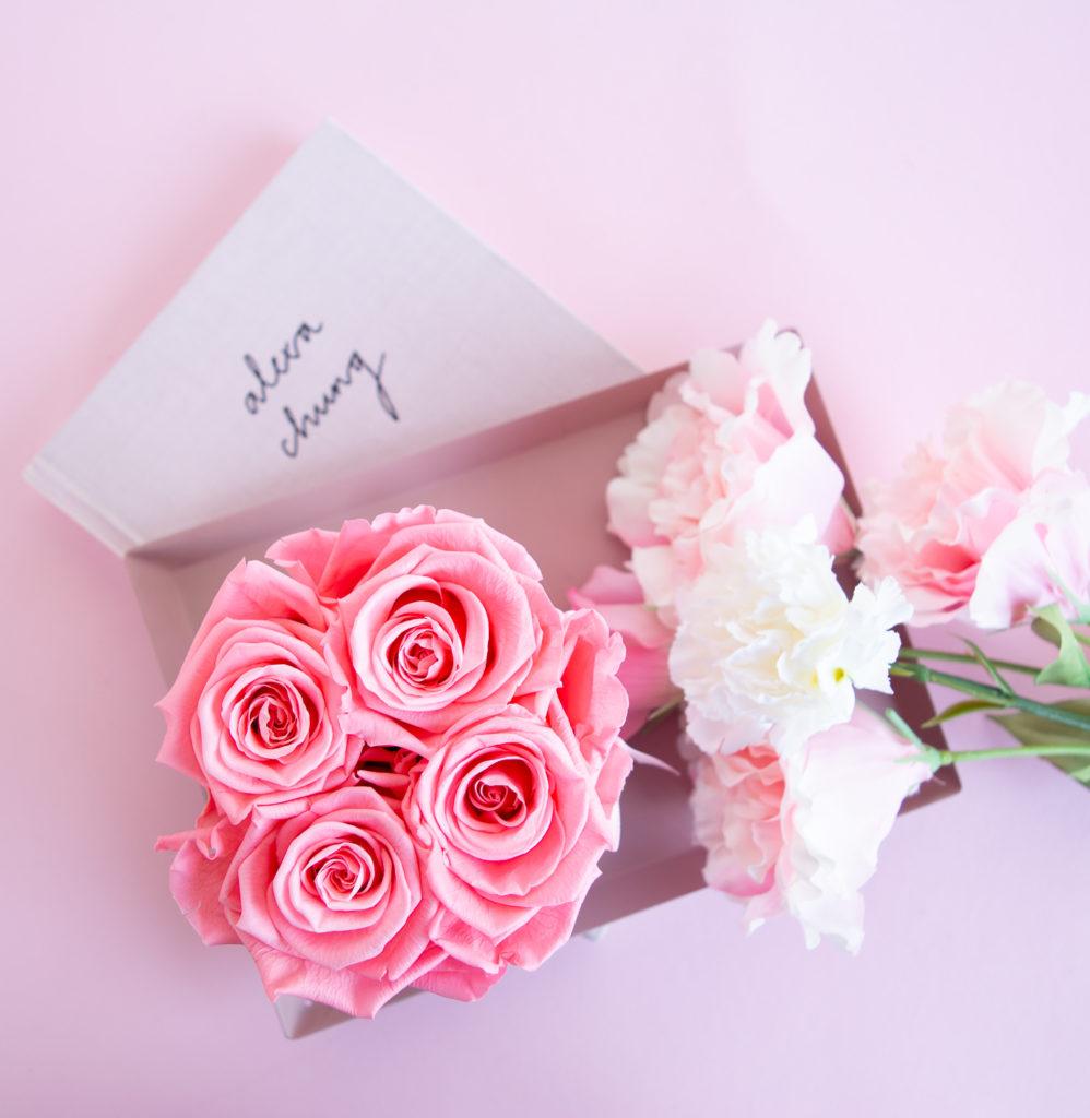 Infinity Rosen in vielen Farben als Geschenk für Freunde und Familie