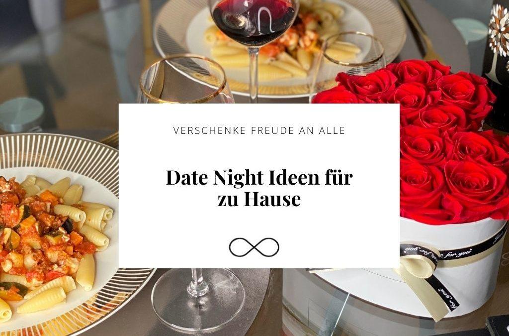Date-Night-Ideen für zu Hause