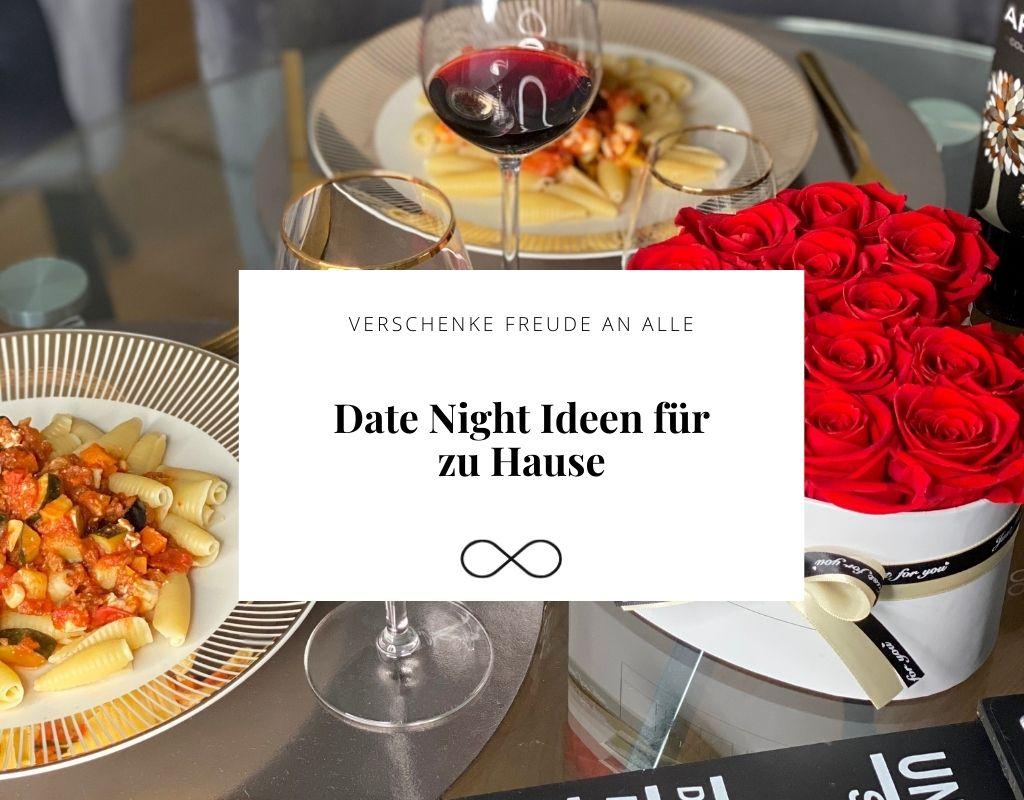 Date Night Ideen für zu Hause