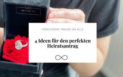 4 Ideen für den perfekten Heiratsantrag