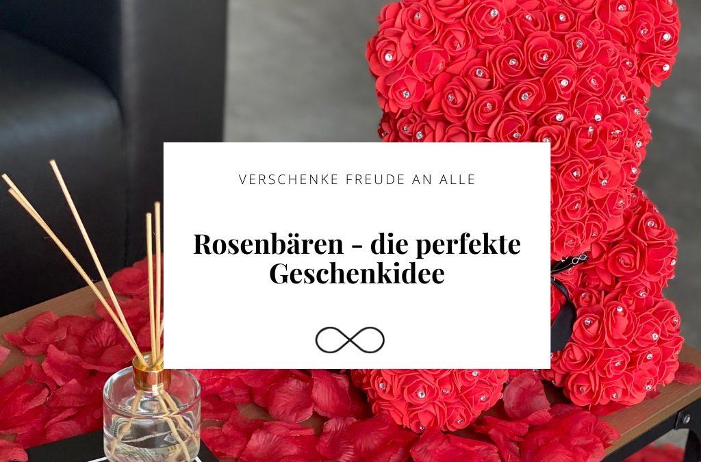 Rosenbären – die perfekte Geschenkidee
